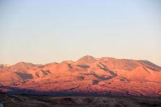Zachód słońca San Pedro de Atacama Chile