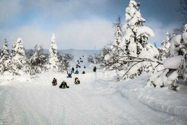 Zjazd na sankach 2 Finlandia