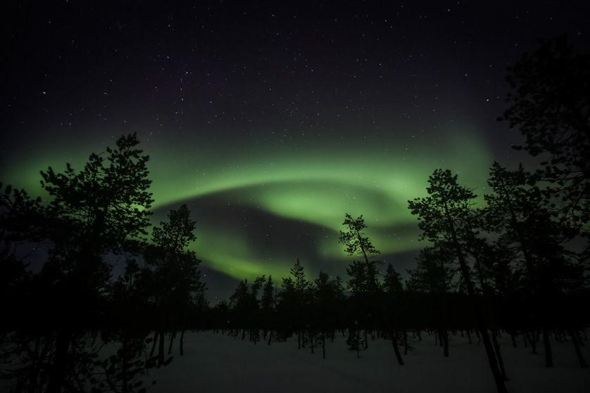 Zorza polarna Finlandia 5