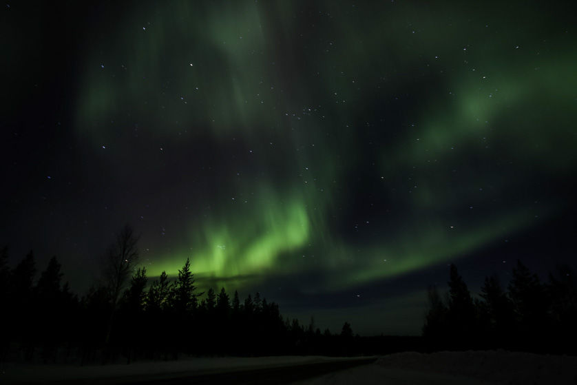 Zorza polarna Finlandia 7