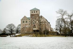 Zamek w Turku Finlandia