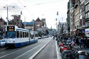 Amsterdam deptak Damrak