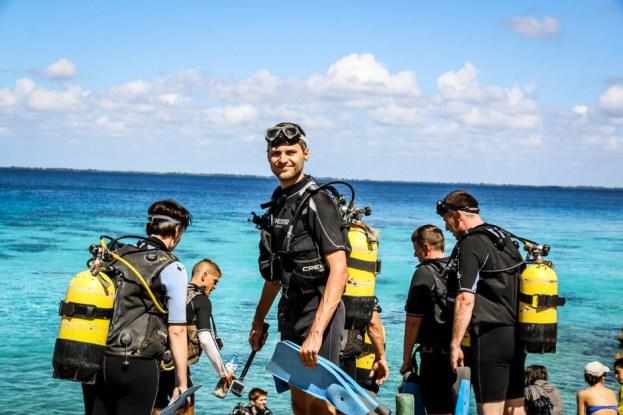 Nurkowanie w Zatoce Świń Kuba