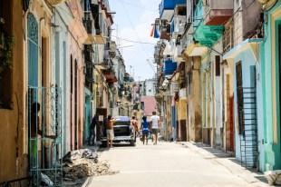 Stara Havana część zamieszkana