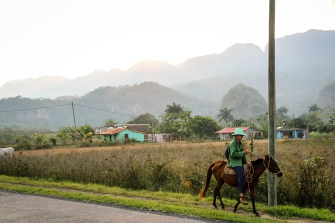 Transport Dolina Vinales