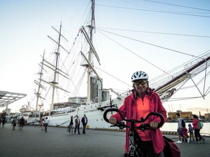 Dar Pomorza w porcie w Gdyni