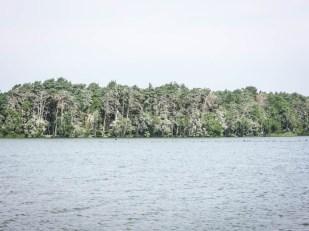 Jezioro Dołgie Wielkie Słowniński Park Narodowy 2