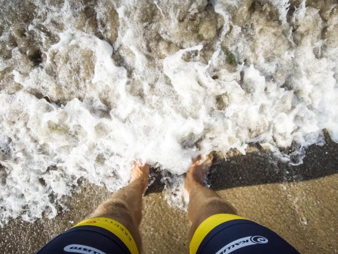 Kąpiel w Morzu Bałtyckim