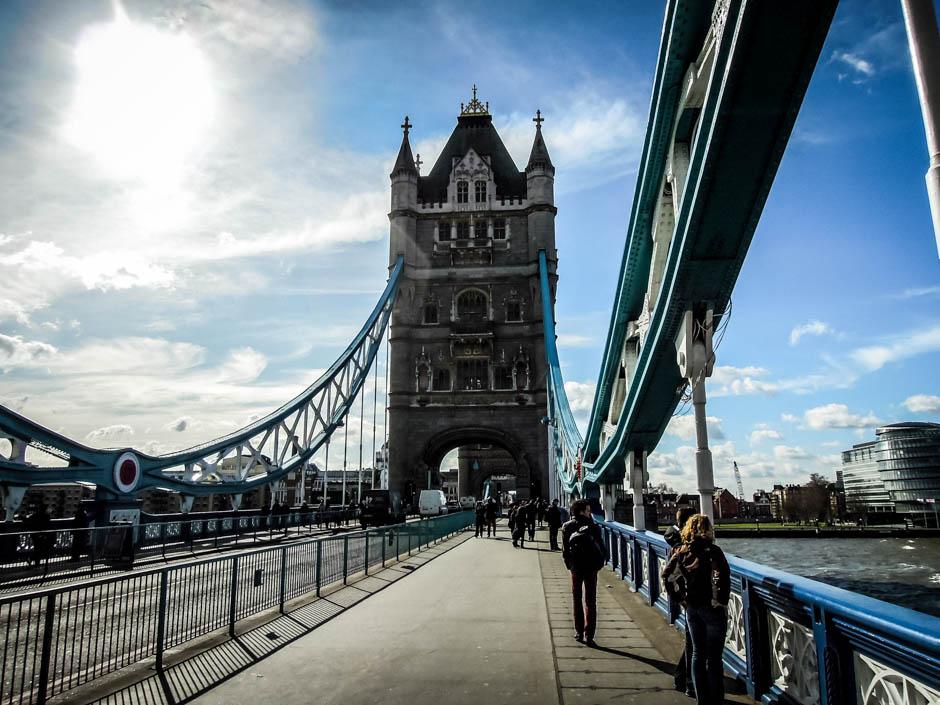 Tower Bridge Londyn