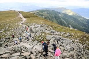 Zejście z Babiej Góry