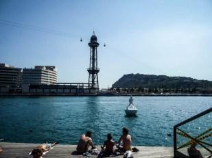 Barcelona Port i kolejka