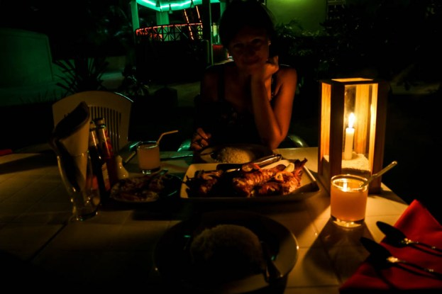 Maafushi Malediwy nocne wędkowanie 6