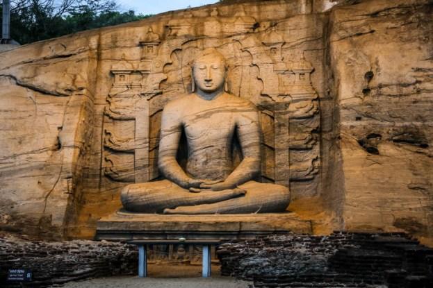 Polonnaruwa Sri Lanka Gal Vihara 2