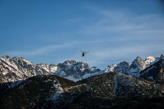 Helikopter Tatry