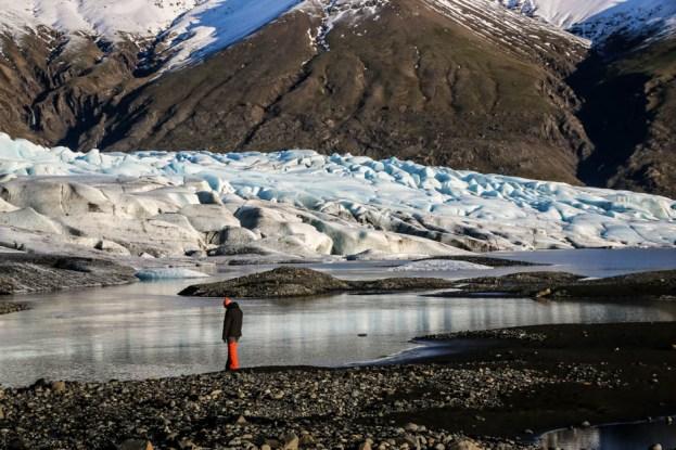 Islandia lodowiec Skaftafellsjokull