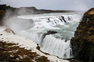Islandia wodospad Gullfoss