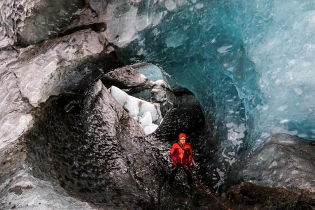 Islandia wycieczka do jaskini lodowej 5