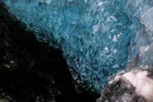 Islandia zimą jaskinia lodowa 2