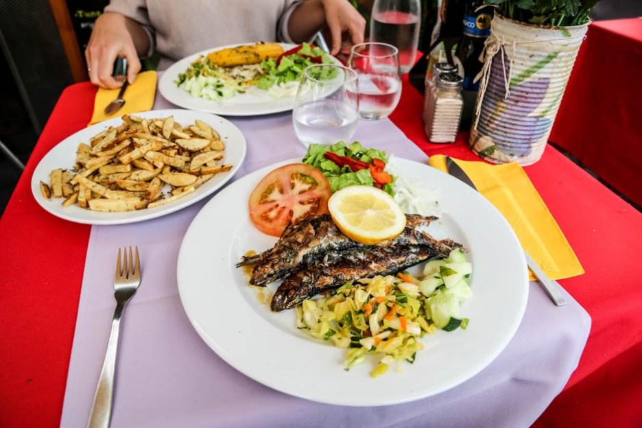 Madera Funchal obiad