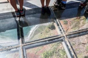 Madera szklana platforma Cabo Girao