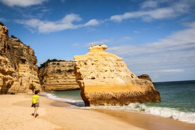 Portugalia Algarve Praia da Marinha 4