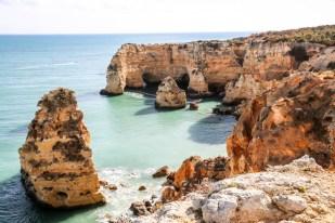 Portugalia Algarve Praia da Marinha 5