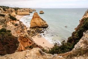 Portugalia Algarve Praia da Marinha
