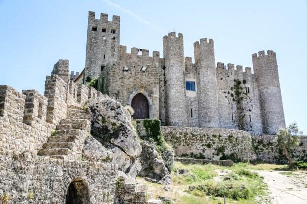 Portugalia Obidos zamek