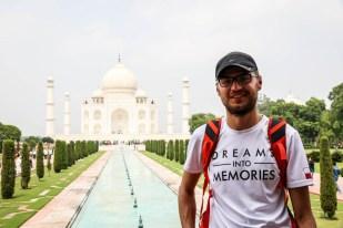 Indie Agra Taj Mahal 3