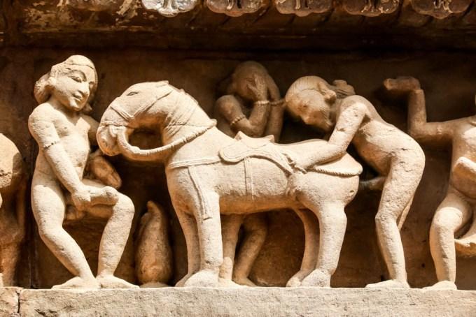 Indie Khajuraho Kamasutra 4