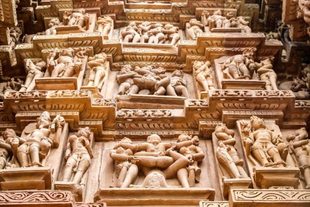 Indie Khajuraho Kamasutra 6