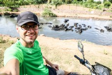 Indie Khajuraho na motorze