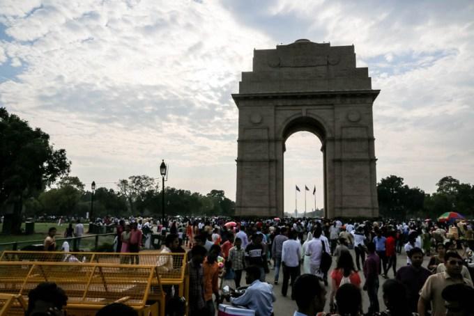 Indie New Delhi Brama Indii