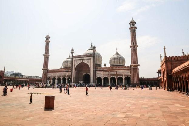Indie Old Delhi meczet Jama Masjid