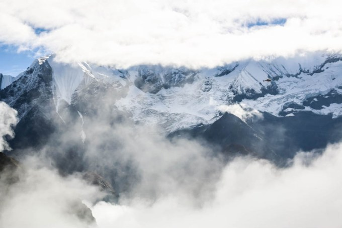 Nepal Annapurna Base Camp panorama 4