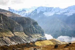 Nepal Annapurna Base Camp panorama
