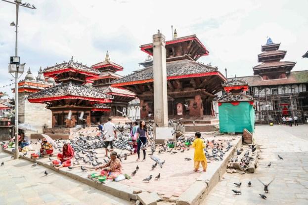 Nepal Kathamandu Durbar Square