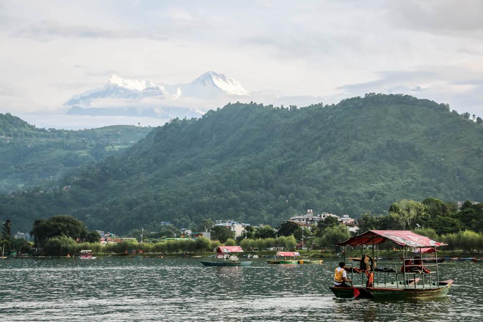 Nepal Pokhara panorama