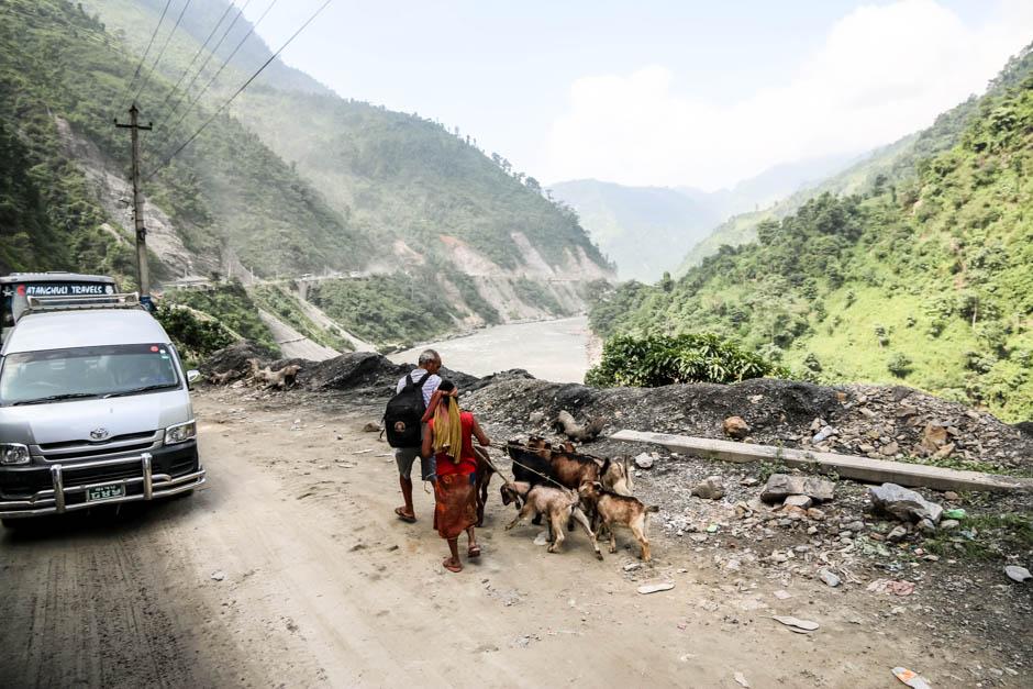 Nepal droga do Pokhary