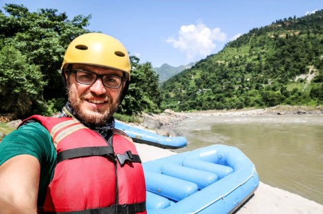 Nepal rafting rzeką Trisuli 2
