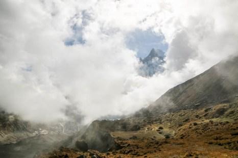 Nepal trekking ABC Rybi ogon