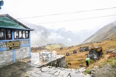 Nepal trekking ABC