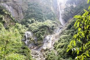 Nepal trekking do ABC wodospady 3