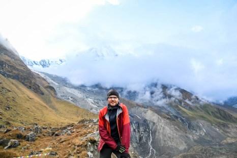 Nepal trekking widoki z ABC