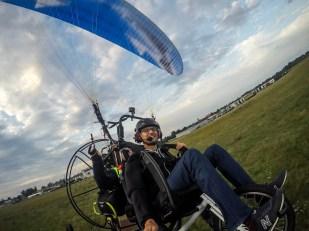 Lot motoparalotnią w Gliwicach 6