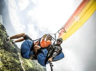 Nepal Pokhara lot paralotnią 4