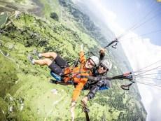 Nepal Pokhara lot paralotnią 9