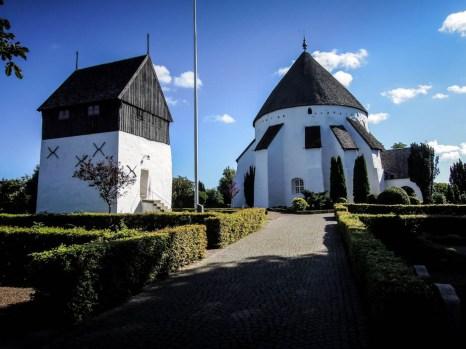 Bornholm kościół rotundowy Osterlars