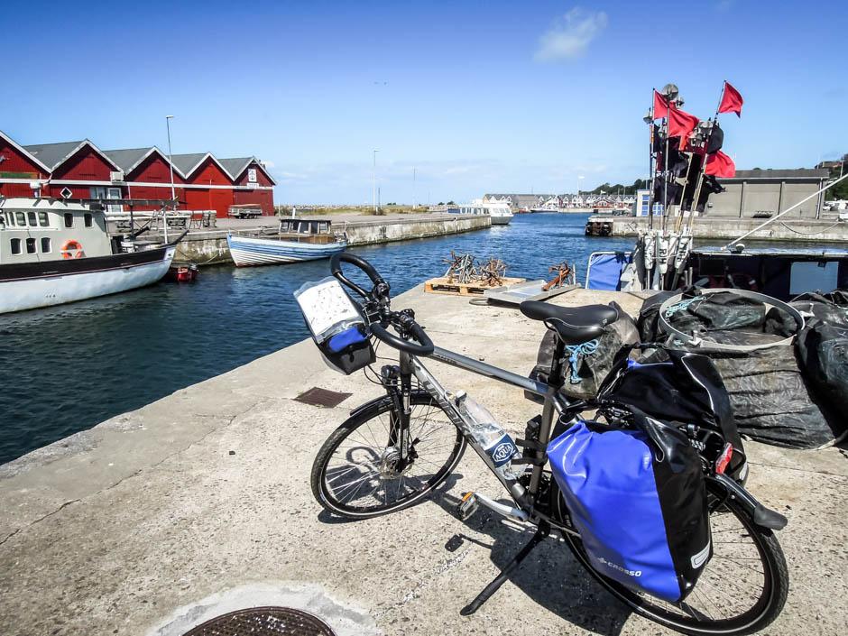 Bornholm port rybacki