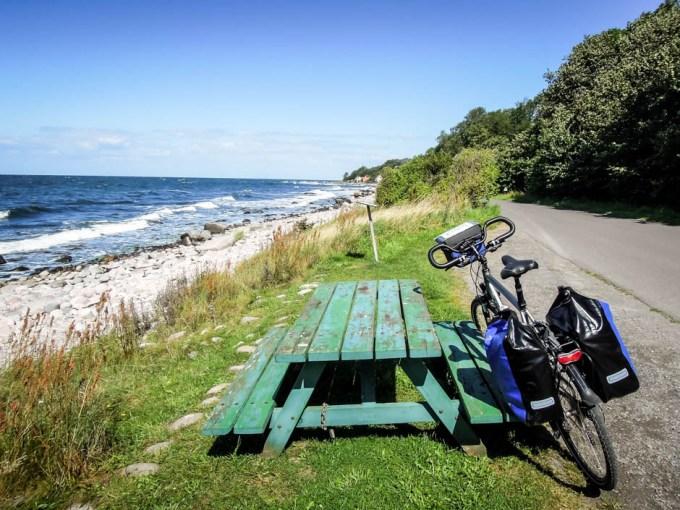 Bornholm przerwa na trasie